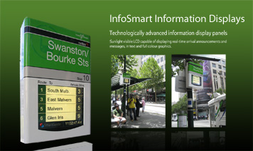 SmartGuide Information Display for Yarra Trams